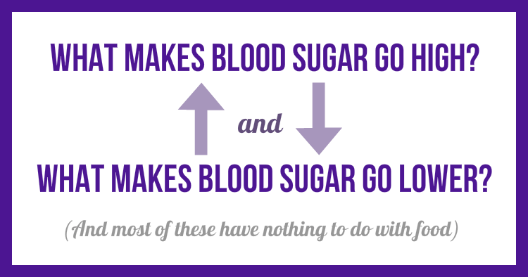what makes your blood sugar go high