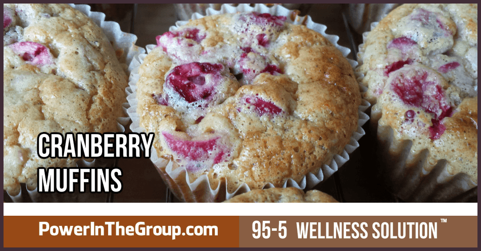 Diabetic Cranberry Muffin Recipe