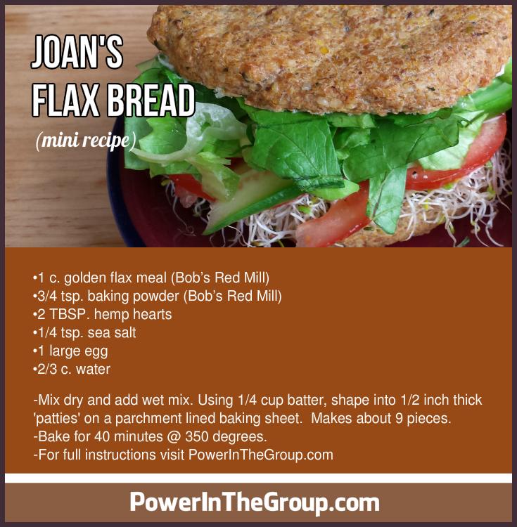 Flax Bread Recipe Mini