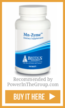 Biotics Research Mn Zyme Manganese