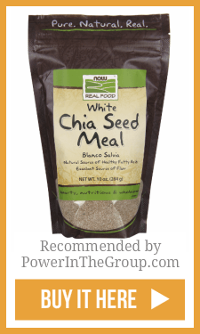 Now Foods White Chia Seed Meal