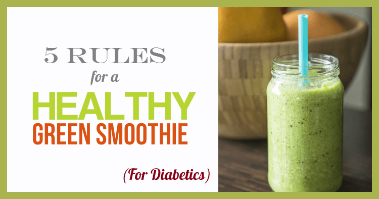 healthy green smoothie for diabetics