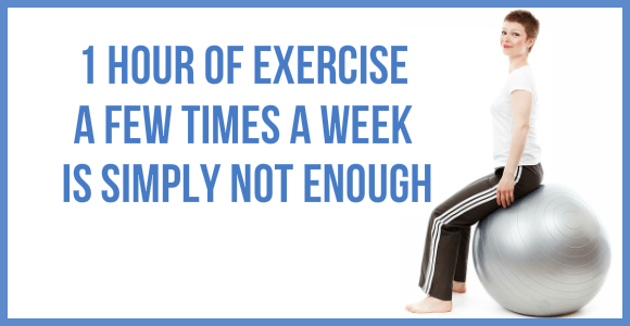 Exercise A Few Times A Week Not Enough