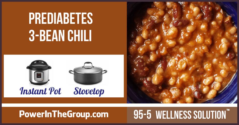 Recipe prediabetes friendly 3 bean chili high fiber prediabetes friendly 3 bean chili forumfinder Image collections