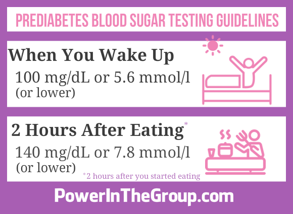 Prediabetes Blood Sugar Testing Guidelines