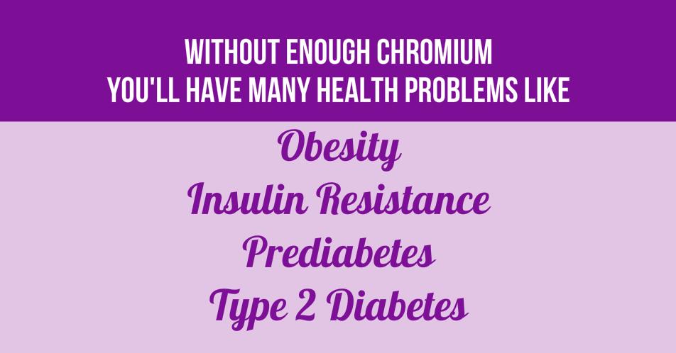 Chromium Insulin Resistance and Prediabetes