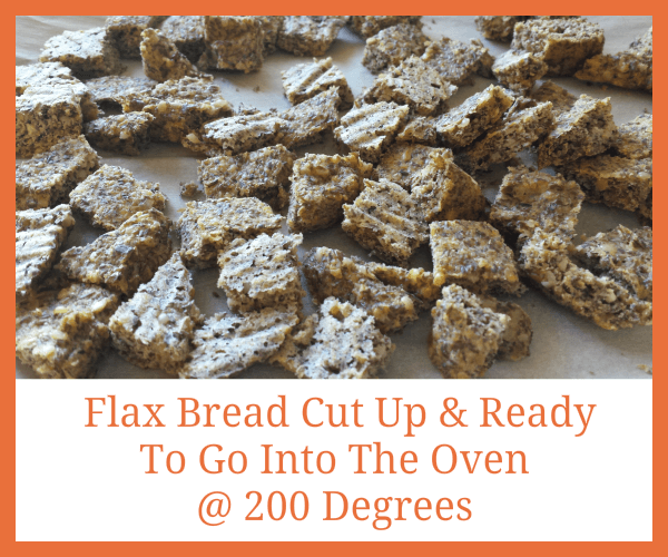 Flax Croutons
