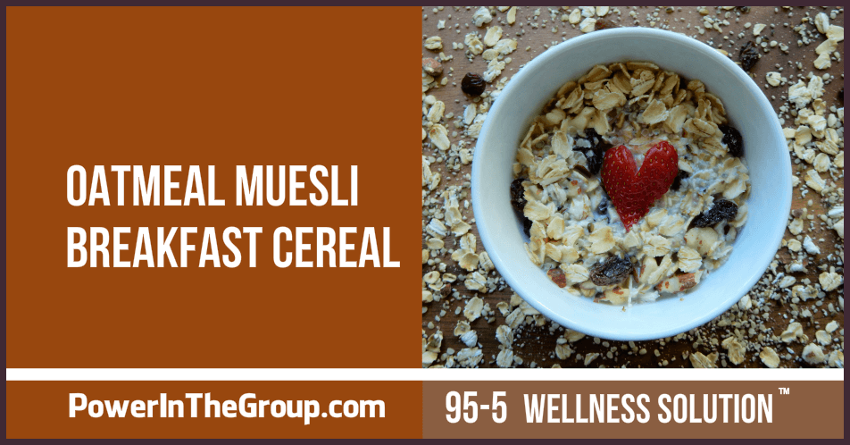 Oatmeal Muesli Breakfast Cereal