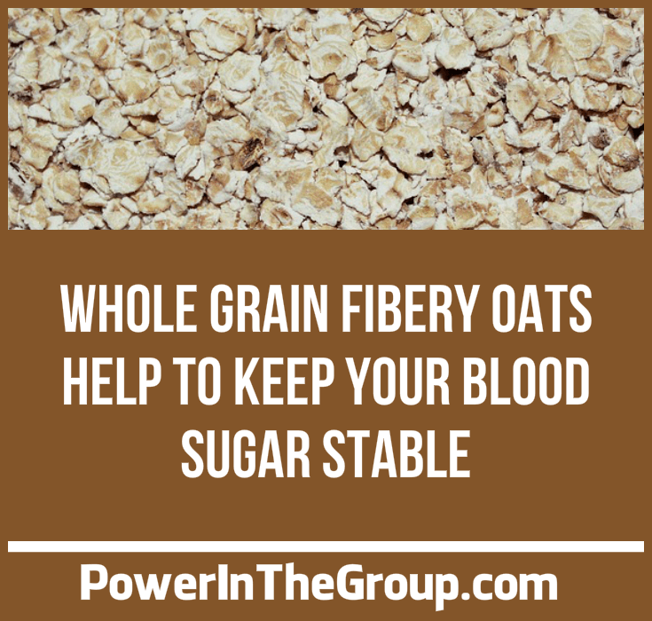 Oats_Whole Grain Oats Stable Blood Sugar