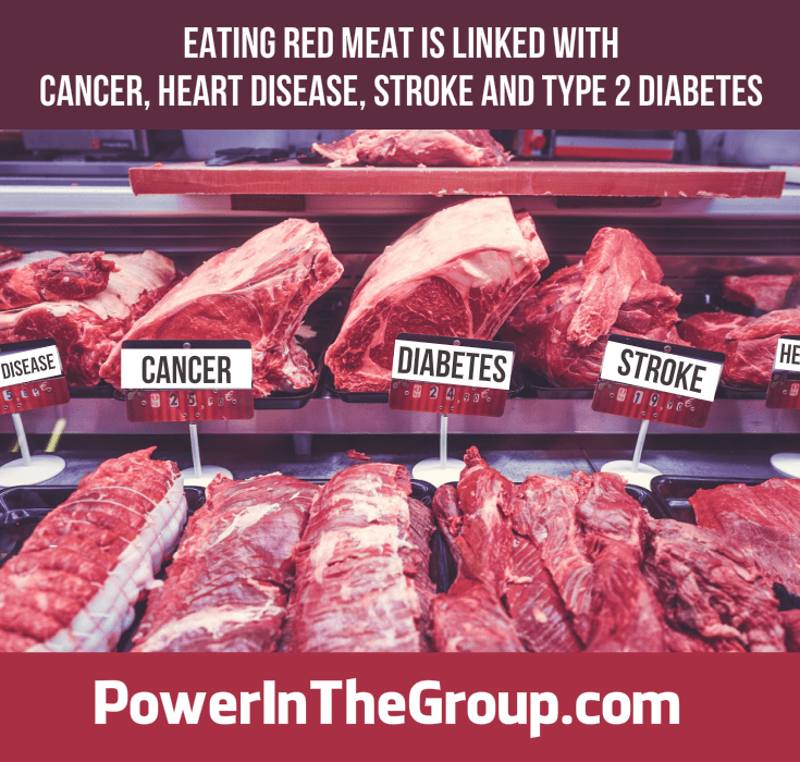 Get Healthy, Stop Eating Red Meat