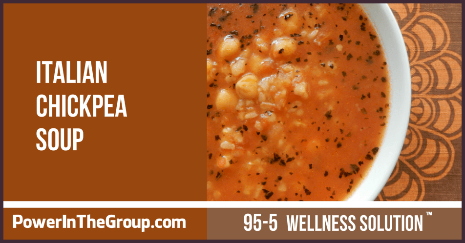 Italian Chickpea Soup Recipe