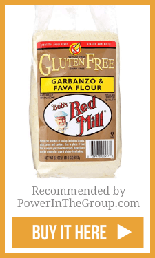 Bobs Red Mill Fava and Garbanzo Flour