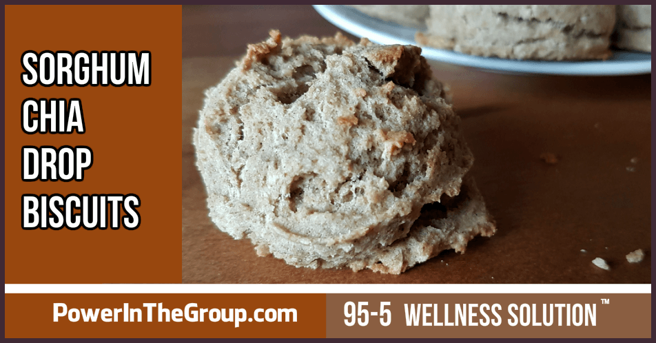 Sorghum Chia Drop Biscuit Recipe
