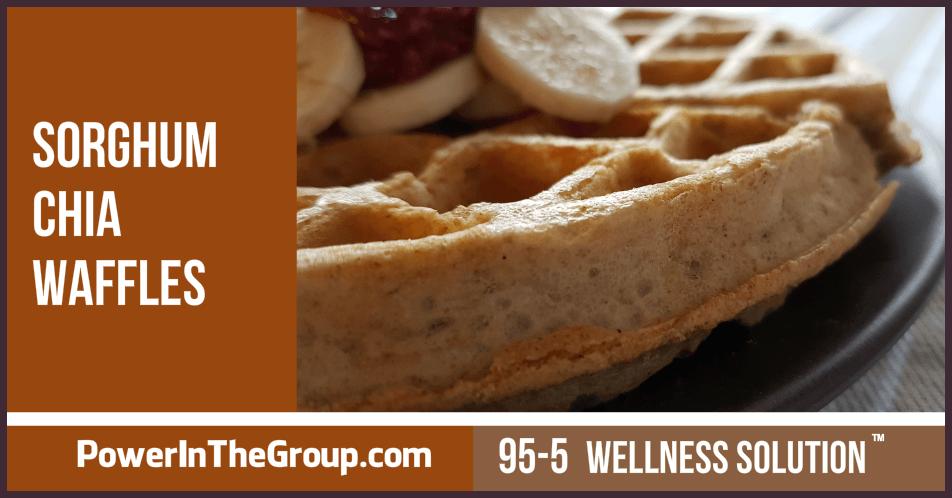 Sorghum Chia Waffle Recipe