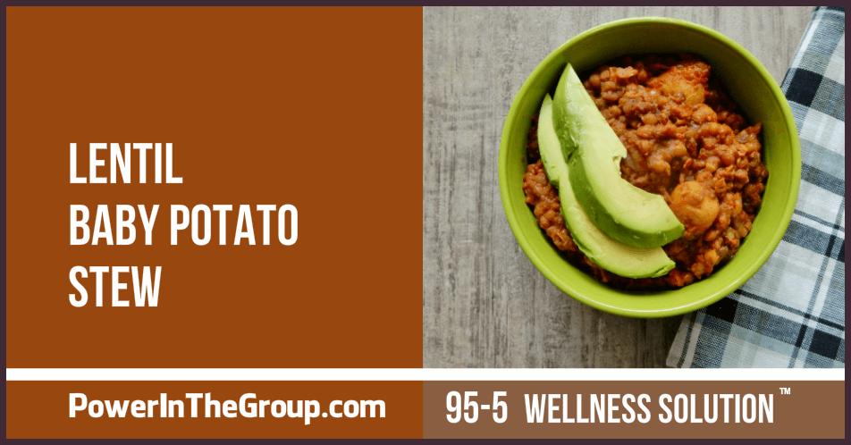 Lentil Baby Potato Stew Recipe