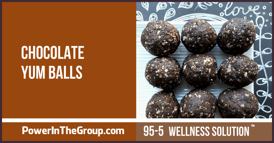 Recipe - Chocolate Yum Balls