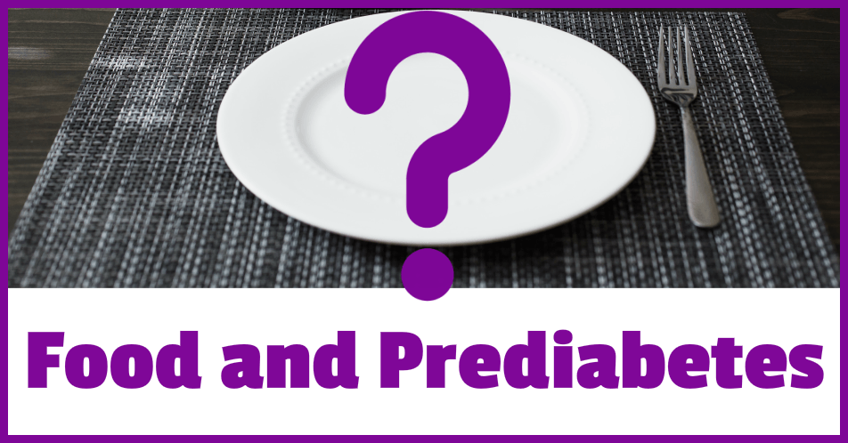 Food and Prediabetes