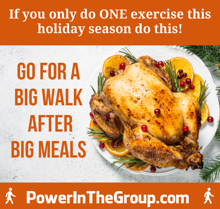 Exercise During The Holidays - Go For A Walk!