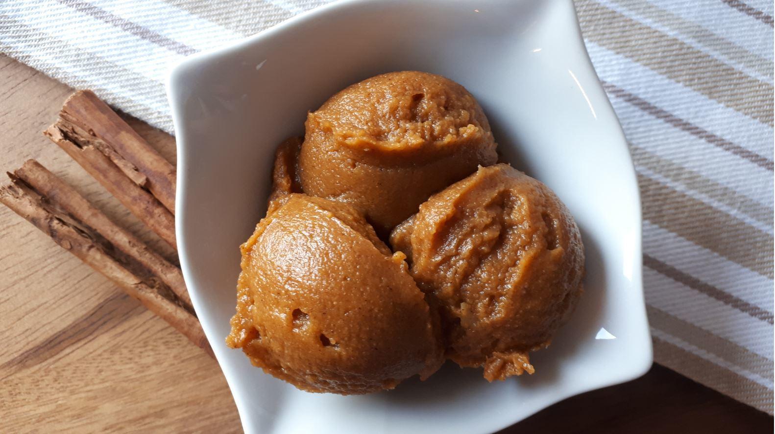 Crustless Pumpkin Pie Pudding No Ice Cream