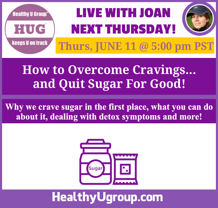 Live with Joan - How to Overcome Cravings