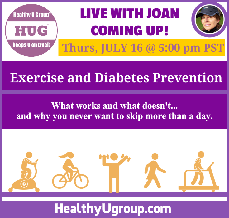 Exercise and Diabetes Prevention: Live With Joan July 16
