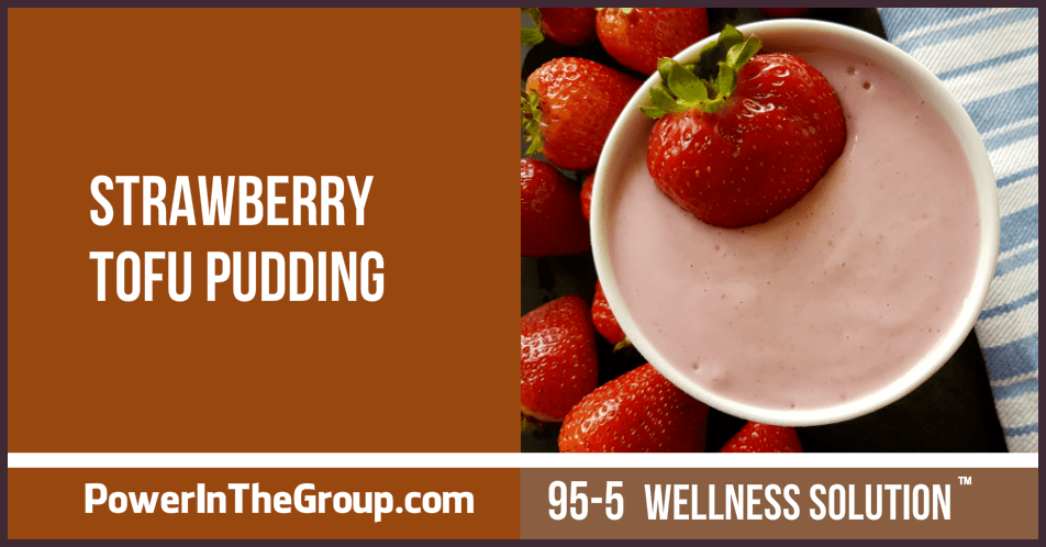 Strawberry Tofu Pudding Recipe