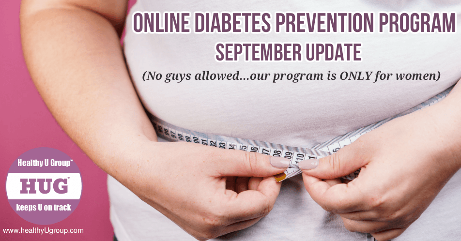 Diabetes Prevention Program - September update