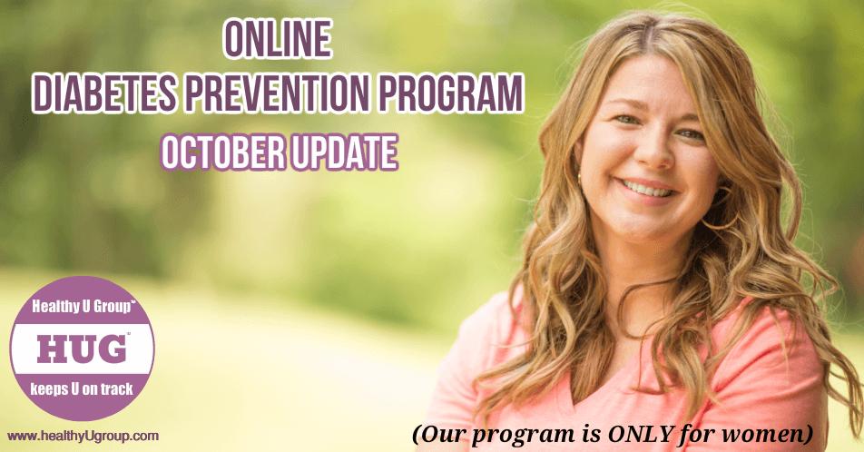 Online Diabetes Prevention Program October 2020 update